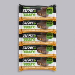 5 x Supernature Peanut Butter Cups 40g