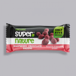 Supernature Raspberry Chocolate Raisins 40g