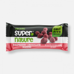 Supernature Chocolate Raspberry Raisins  - 40g