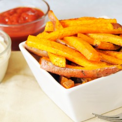 Chunky Sweet Potato Chips (Skin on) - 500g ***DELISTED***