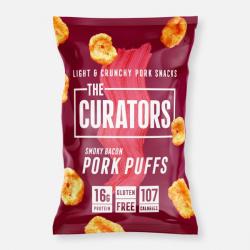The Curators - Smoky Bacon Pork Puffs 22g