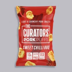 The Curators - Sweet Chilli BBQ Pork Puffs 22g