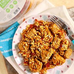 Mock Chicken Tikka Masala - 23g Protein & 301 kcal