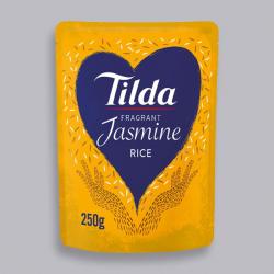 Tilda Microwave Fragrant Jasmine Rice 250g
