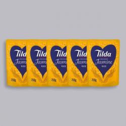 Tilda Microwave Fragrant Jasmine Rice 250g - x5