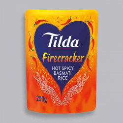 Tilda Microwave Hot Firecracker Basmati Rice 250g