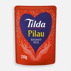 Tilda Microwave Pilau Basmati Rice 250g