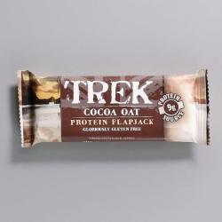 Trek Cocoa Oat Flapjack - 50g