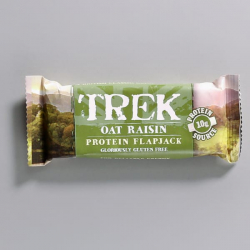 TREK Oat Raisin Protein Flapjack