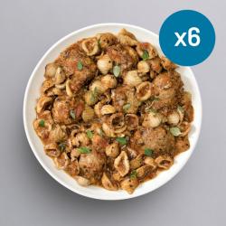 Turkey Meatball & Pasta - 6 Meals