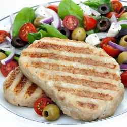 10 x 170g Premium Turkey Breast Hache Steaks