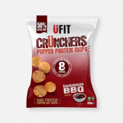 UFIT Crunchers Smokehouse BBQ High Protein Popped Chips - 35g