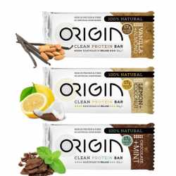 Handmade All Natural Protein Bars - By Origin