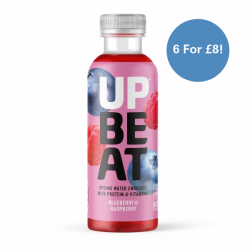 UpBeat Blueberry & Raspberry 6 for £8.00