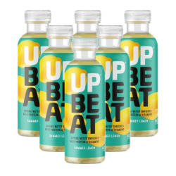 UpBeat Protein Water - Summer Lemon (6 for £9.95)