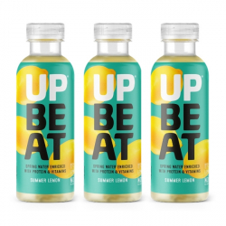 Upbeat Juicy Protein Water - Summer Lemon - 3 x 500ml