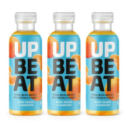 Upbeat Juicy Protein Water - Blood Orange & Mandarin - 3 x 500ml
