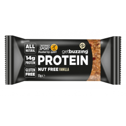 Get Buzzing Vanilla and Seed High Protein Bar 1 x 55g