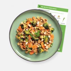 Pad Thai Style Veggie Noodles Recipe Kit