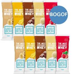 10 x 30g Whey Box Protein Sachets – BOGOF