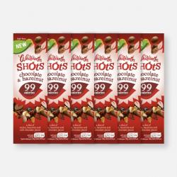 Chocolate & Hazelnut Shot - 6 x 25g