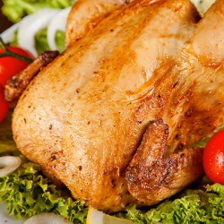 Whole Fresh British Chicken - 1.2 kg ****