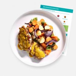 Wholegrain Mustard & Honey Chicken Tray Bake Recipe Kit