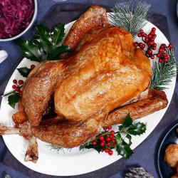 4 -4.4kg British Turkey Hen