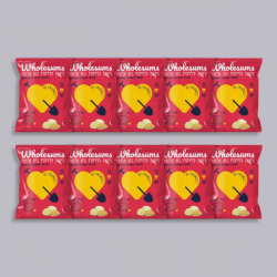 10 x 22g Popped Chips Sweet Chilli - Wholesums