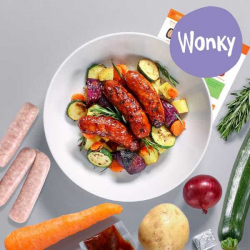 Wonky Sticky Chilli Sausage & Veg Bake Recipe Kit