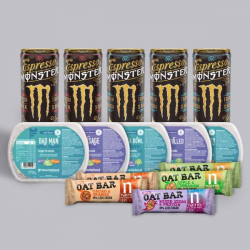 Working week meal deal - with Monster Coffee!