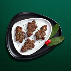 Christmas Tree Beef Steak Burgers - 4 x 57g