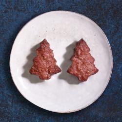 Xmas Tree Shaped Burgers