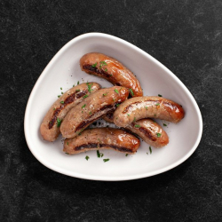 6 Meaty Pork Sausages - 400g