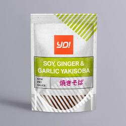 Yo! Yakisoba Soy, Ginger & Garlic Sauce 100g