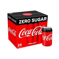 Coca Cola Zero Sugar 24 x 330ml Can